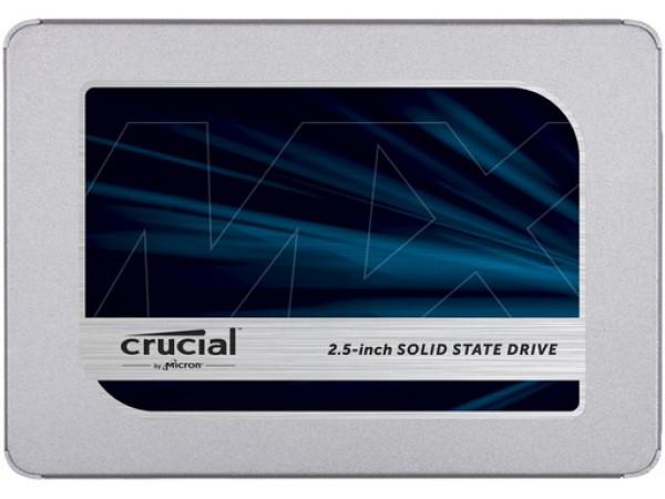 """SSD 500GB 2.5"""" SATA3 3D TLC, 7mm, CRUCIAL MX500"""