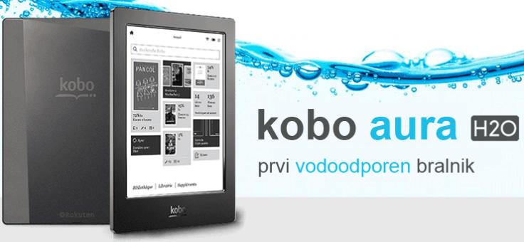 Vodoodporni bralnik Kobo AURA H2O