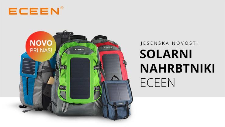 Solarni nahrbtniki ECEEN za mobilne naprave 5V