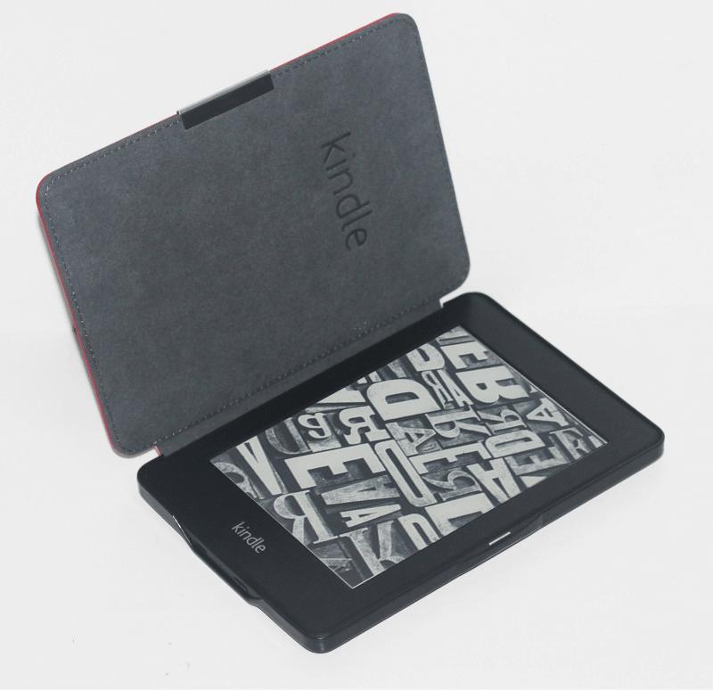 Elegantni ovitek za Kindle Paperwhite iz atraktivnega sintetičnega usnja