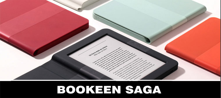 Novo na trgu: Bookeen Saga z integriranim silikonskim ovitkom