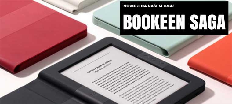 Novo: E-bralnik Bookeen SAGA