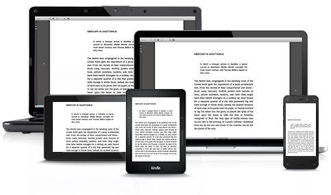 Amazonov račun omogoča branje knjige na različnih napravah