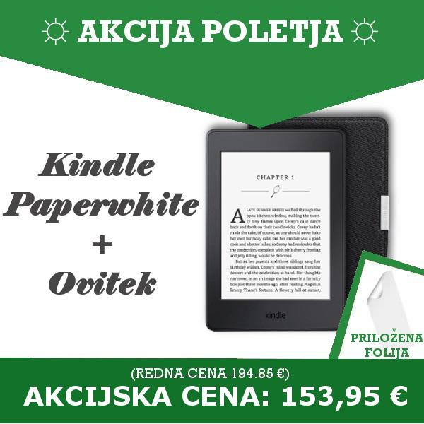 Kindle Paperwhite + ovitek