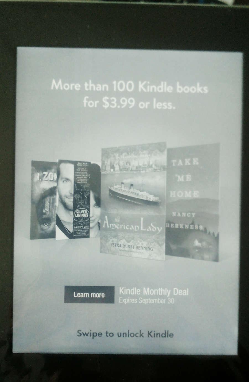 Kindle Paperwhite Special Promotion: Primer ohranjevalnika zaslona