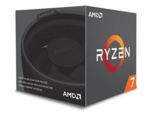 AMD procesor Ryzen 7 box LED 8C/16T 2700 (4.1GHz,20MB,65W,AM4)