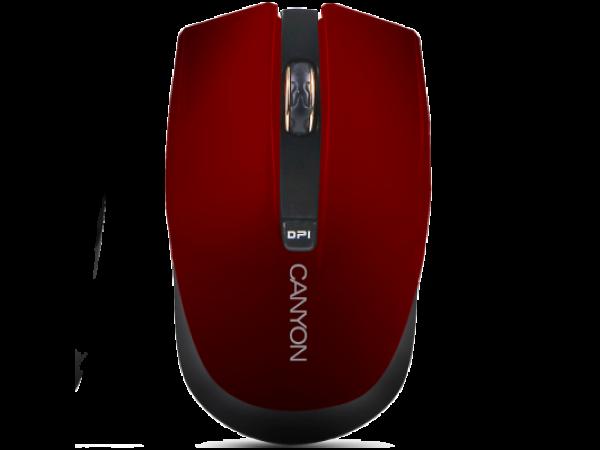 Brezžična miška Canyon CNS-CMSW5 (rdeča)