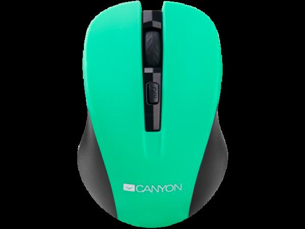 Brezžična optična miška Canyon CNE-CMSW1 (zelena)