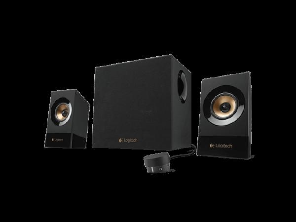 Zvočniki Logitech Z533 2.1, 60W RMS, črni