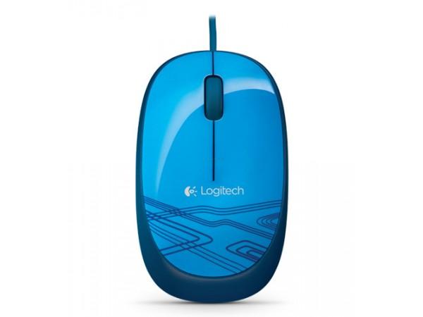 Kvalitetna optična miška Logitech M105 je primerna za desničarje in levičarje.