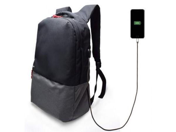 Nahrbtnik za prenosnik 17.3'', USB port, črn, Ewent EW2529
