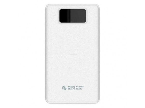 Polnilna baterija ORICO LE12000-WH, 12.000 mAh Li-Po (bela)