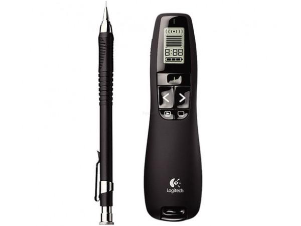 Presenter Logitech R700 professional je v velikosti kemičnega svinčnika.