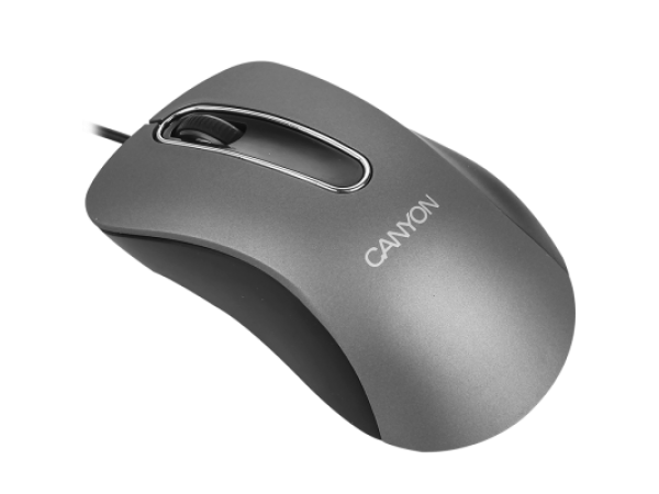 Računalniška miška Canyon CNE-CMS3 (srebrna)