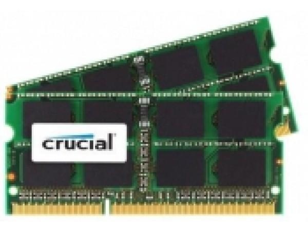 RAM pomnilnik SODIMM DDR3L 8GB Kit (2x 4) PC3L-14900 1866MHz CL13 1.35V Crucial for Mac