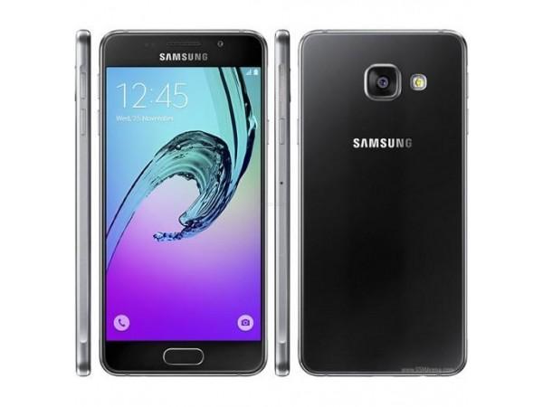 Samsung Galaxy A310: Primer črnega ohišja