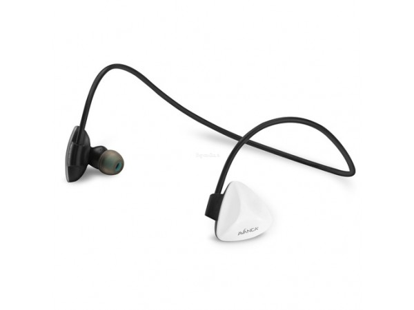 Slušalke Avanca D1 Sports, In-ear, Bluetooth 4.1, NFC, bele