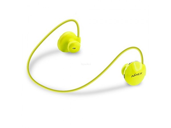 Slušalke Avanca S1 Sports, In-ear, Bluetooth 3.0, rumene
