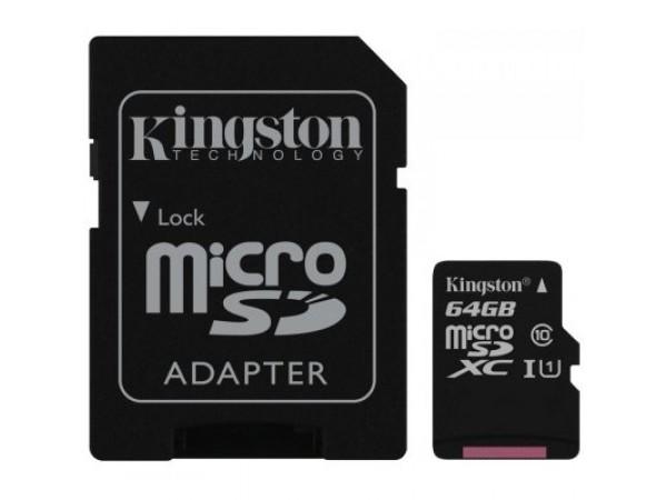 Spominska kartica Kingston 64GB MicroSD