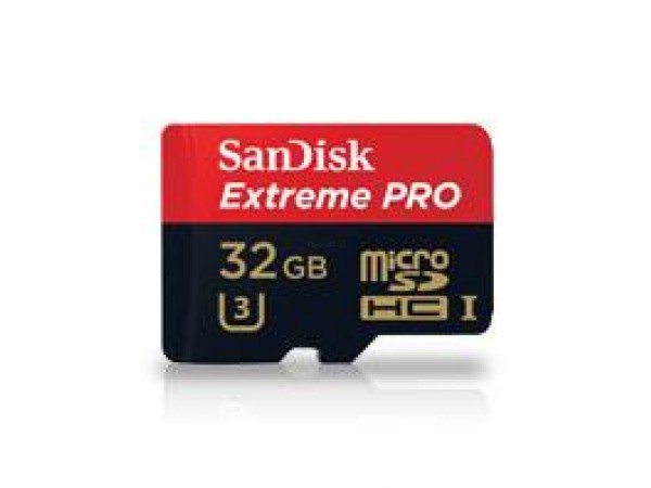 Spominska kartica micro SDHC 32GB C10 UHS-1, SanDisk Extreme PRO +adapter
