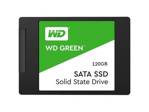 """SSD 120GB 2.5"""" SATA3 3D TLC 7mm, WD Green"""