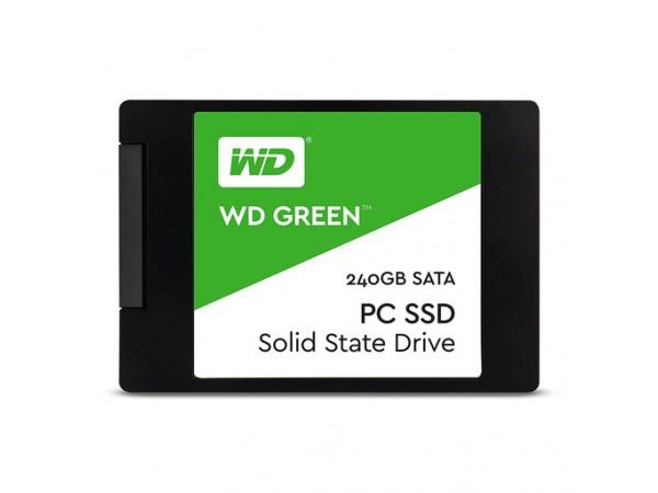 """SSD 240GB 2.5"""" SATA3 3D TLC 7mm, WD Green"""