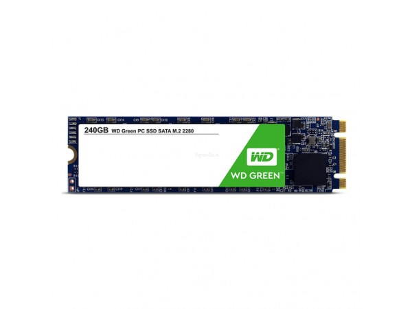 SSD 240GB M.2 80mm 2280 SS SATA3 3D TLC, WD Green