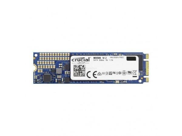 Trdi disk SSD 250GB M.2 80mm 2280 SS SATA3 3D TLC, CRUCIAL MX500