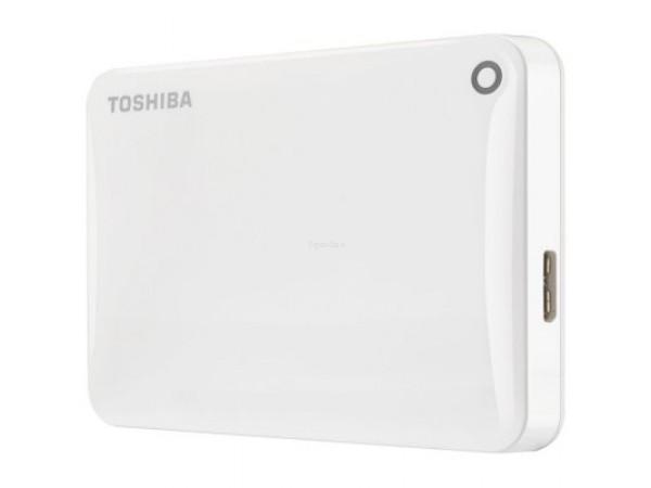 Zunanji trdi disk Toshiba Canvio Connect II, 2TB (bel)