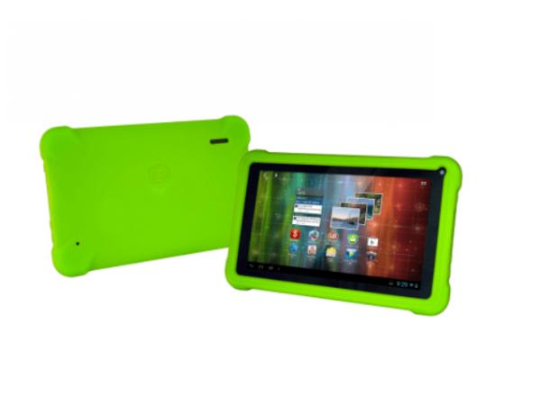 Zeleni ovitek iz gume za Prestigio PMP3670 - Primer uporabe
