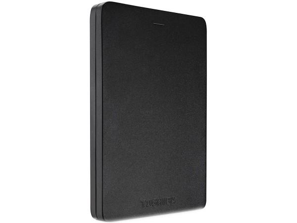 Zunanji trdi disk Toshiba Canvio, 2TB (črn)