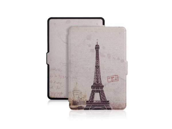 Ovitek za Kindle Paperwhite z robom (eiffel tower)