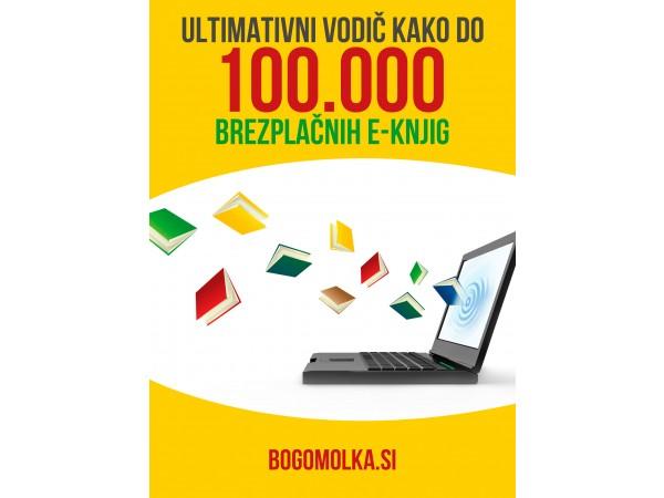 Ultimativni vodič kako do 100.000 brezplačnih e-knjig