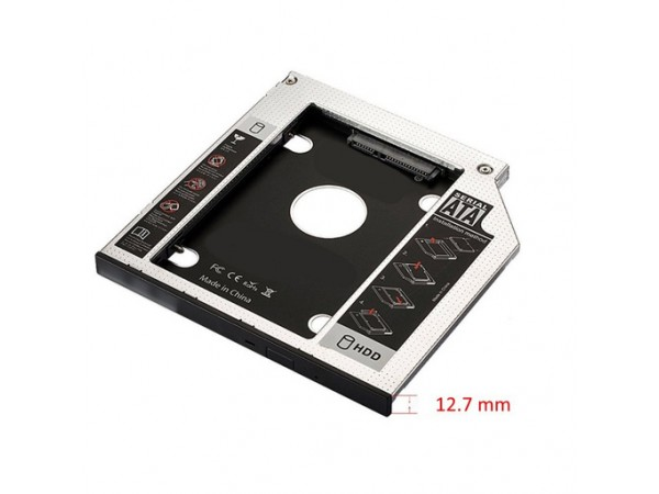 Ewent adapter za SSD/HDD v 12,7mm DVD režo, SATA3