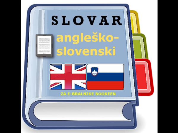Angleško - slovenski slovar za e-bralnike Bookeen (v1.0)