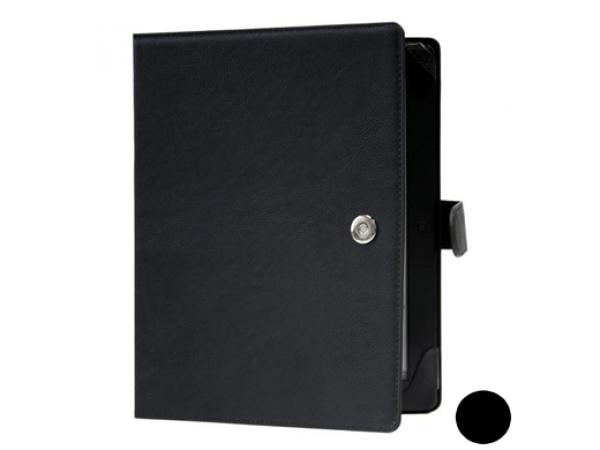 """Usnjena torbica za bralnike 9.7"""" (črna)"""