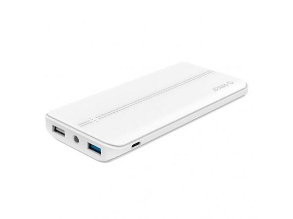 Polnilna baterija ORICO Scharge T10000,10.000 mAh Li-Po, 1x QC 3.0 (bela)