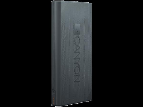 Prenosna baterija CANYON 16000mAh (temno-siva)