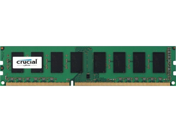 RAM DDR3L 4GB PC3-12800 1600MT/s CL11 SR 1.35V Crucial