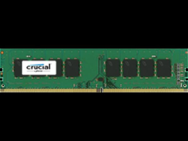 RAM DDR4 16GB PC4-19200 2400MT/s CL17 DR x8 1.2V Crucial