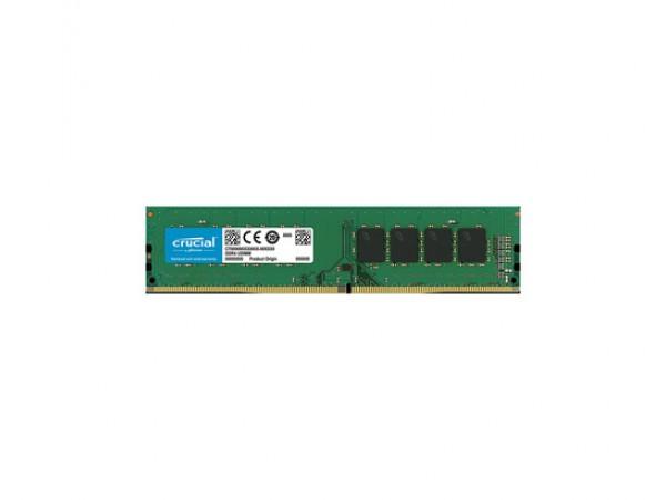 RAM DDR4 8GB PC4-19200 2400MT/s CL17 SR x8 1.2V Crucial
