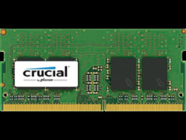 RAM SODIMM DDR4 16GB PC4-19200 2400MT/s CL17 DR x8 1.2V Crucial