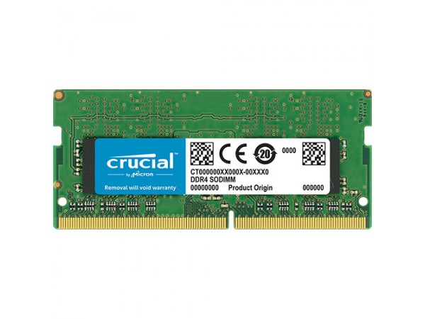 RAM SODIMM DDR4 4GB PC4-21300 2666MT/s CL19 SR x8 1.2V Crucial