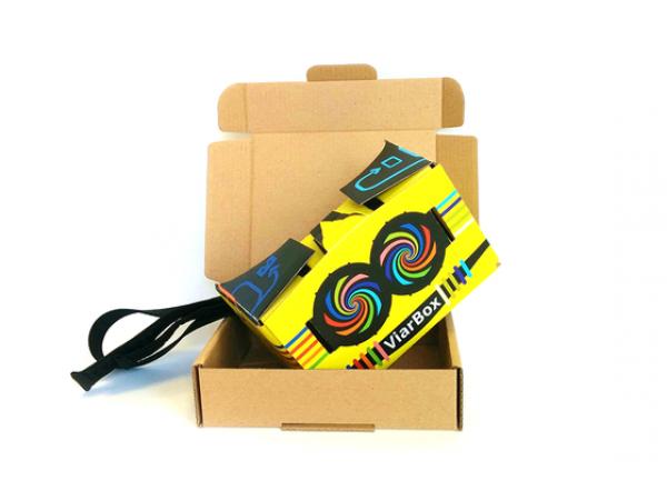 VR očala Cardboard Viarbox 2.0 - Odprta embalaža