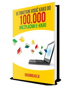 Brezplačna e-knjiga: Kako do tisoče brezplačnih e-knjig