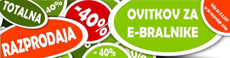 -40% Popust na ovitke za ebralnike