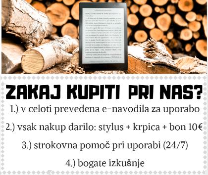 Zakaj e-bralniki e-knjig Bogomolka
