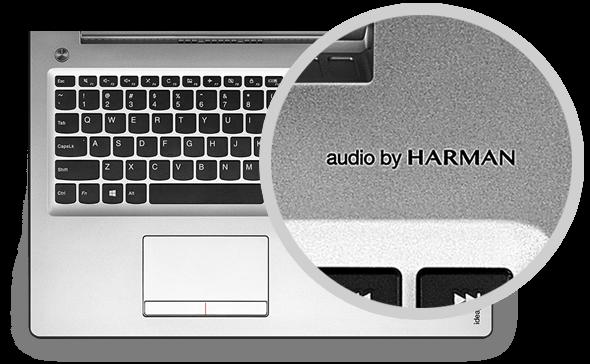 Lenovo IdeaPad 510 z zvocniki Harman