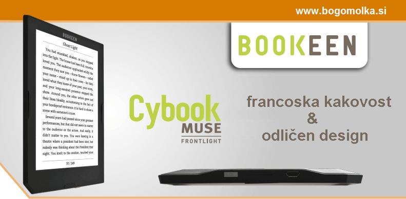 Odlicen bralnik: Cybook Muse francoskega proizvajalca Bookeen
