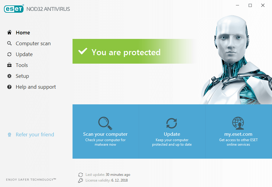 Eset antivirusni program